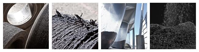 E-Cova - Recupero e trasformazione gomme superelastiche - Produzione polverino e sfilacciato di gomma - Polverini